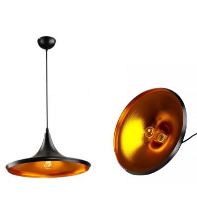 Lampa wisząca czarno-złota...